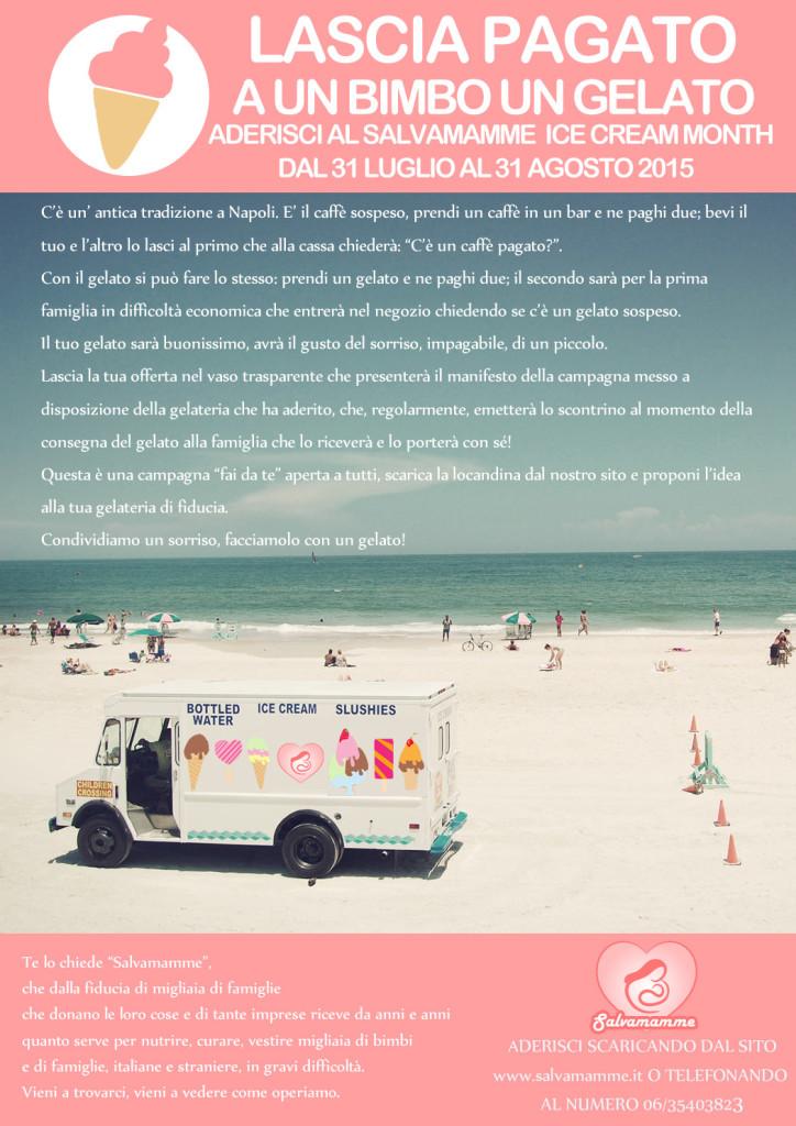 Salvamamme ice Cream Locandina spiegazioneMonth