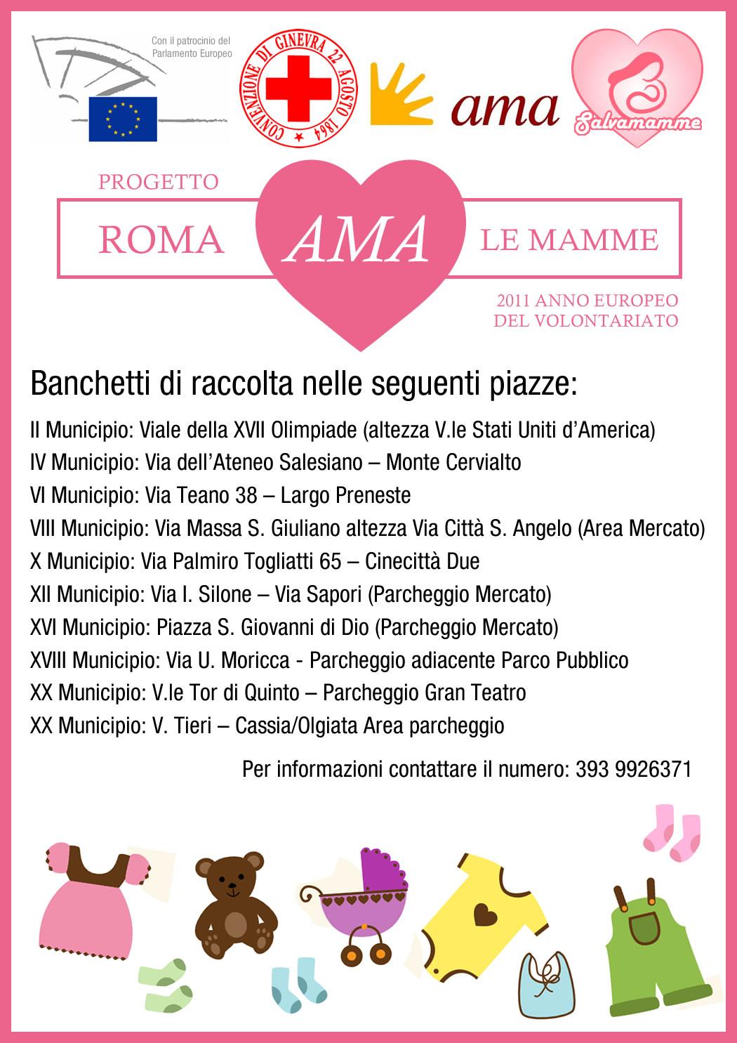 Roma Ama le mamme